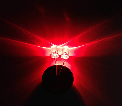 Ultra Bright Red 5mm LED Light Emitting Diode Pack of 20