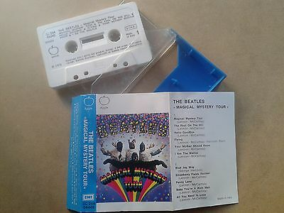 The Beatles Magical Mystery Tour Cassette Rare Tape Made In Italy