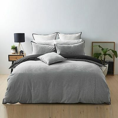 NEW Keegan Quilt Cover Set Quilt Cover Size: