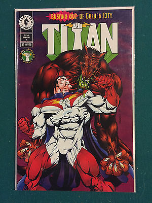 Titan SPECIAL #1 , DARK HORSE COMICS , June 1994 edition.  VF to NM