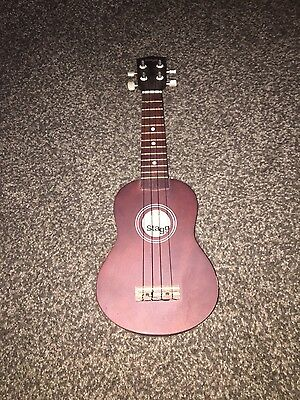 Small guitar Stagg US10 Traditional Soprano Ukulele Dark Natural