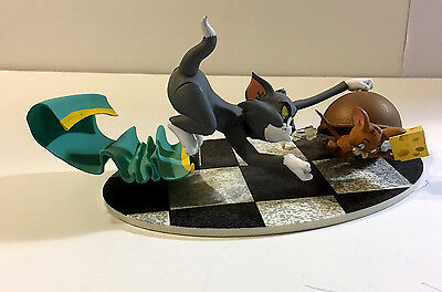 Tom And Jerry Figural Chase Scene Plastic