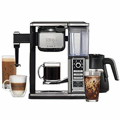 Ninja Coffee Bar Glass Carafe System Hot Iced Blended Coffeehouse Style)))