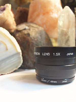 Sima Tele Conversion Lens 1.5 X 52Mm / 49Mm Japan - Free Registered Post