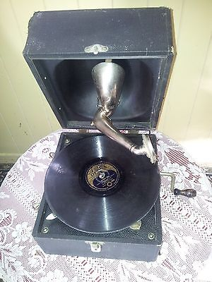 Vintage Decca Junior Portable Gramophone