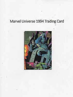 1994 Marvel Universe Trading Card #66 Fall From Grace - Morbius