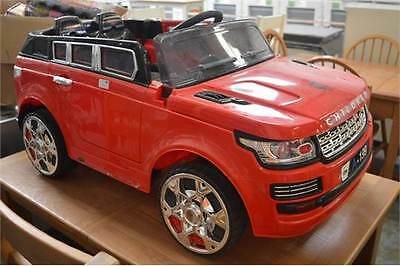 kids Ride on Range Rover 12volt with remote parental control