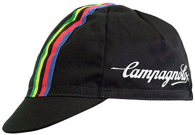 Brand new Campagnolo black Cycling cap, Italian made Retro fixie Focus