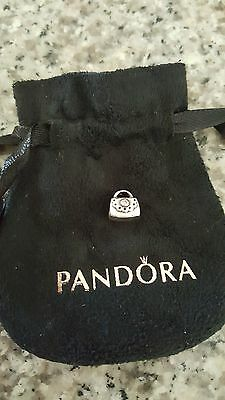 Pandora Charm – Handbag Silver Pre-loved Retired 790309