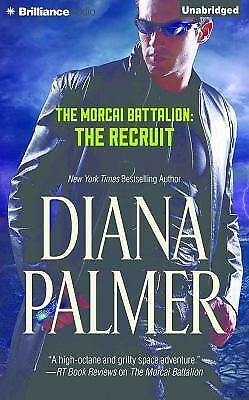 THE RECRUIT unabridged audio book on CD by DIANA PALMER