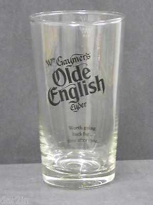 Gaymers Olde English Cider Pub Home Bar Collectors Drinks Pint Glass Used 414