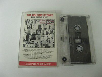 The Rolling Stones exile on main street - Cassette Tape