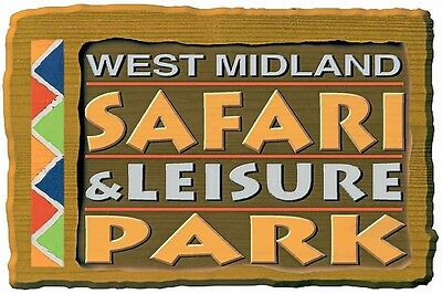 1 X West Midland Safari Park - Adult Or Child Ticket - Anyday Anytime
