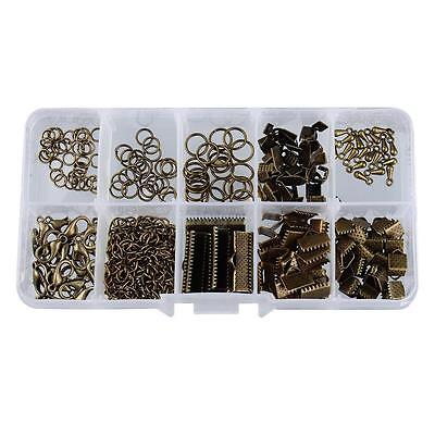 Jewelry Making Starter Kit Earring Bracelet Necklace Jewelry Making Bronze