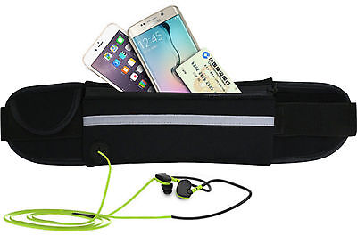 Travel Money Belt Security Pouch Passport Cash Money Wallet Mobile Phone