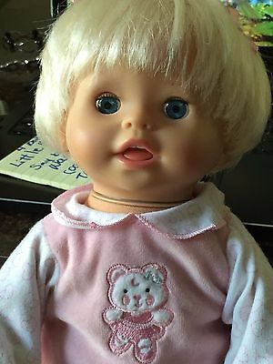 My Mommy Doll Mattel 2006 Talks,Sneezes, and Much More READ