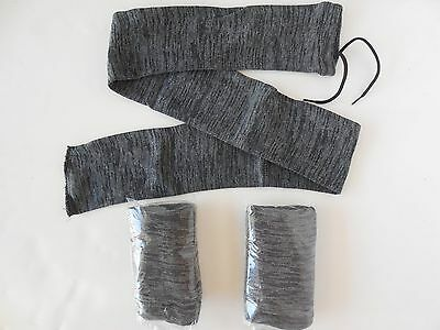 "Gun Rifle Sock Rug Case (Set of 3 Each) 52"" Knit Fabric Brand New"