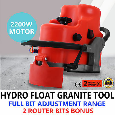 Granite Marble Router Profile Edge Grinding Travertine Convenient Electric Motor