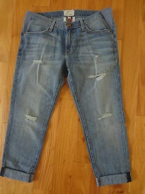 The Current/Elliott X hatch New Boyfriend Maternity Jeans Sup Lov Des 26 NWT