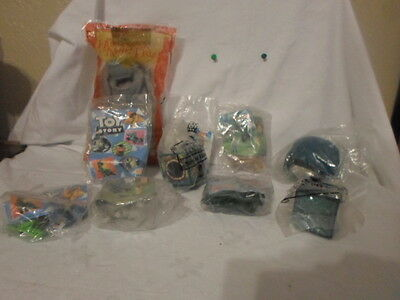 NEW Lot of 11 Burger King Happy Meal Toys Disney Toy Story, The Lion King......