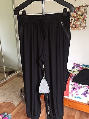 Forever New ladies cargos, size 14, black