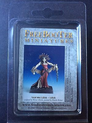 LILLITH VAMPIRE VAM004 Lilith FREEBOOTER MINIATURES Undead