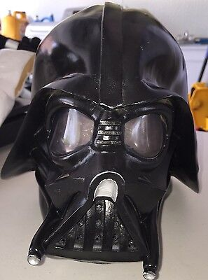 Licensed Star Wars DELUXE LATEX DARTH VADER MASK 1994 Lucasfilm Ltd.