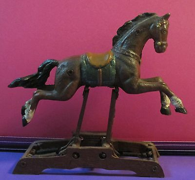 Cast Iron Spring Rocking / Glider Horse
