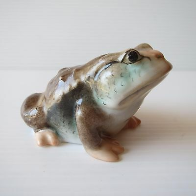 Herend Hungary, Hand Painted Toad / Frog, Porcelain, 15320, Cute Collectible