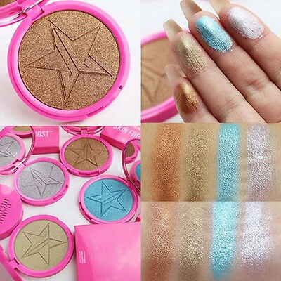 NEW Star Face Powder Contour kit Makeup Bronzer Highlighter Cosmetic Eyeshaow #3