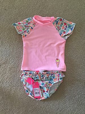 Seafolly Baby Girl 2 Piece Bather Set (Size 1) RRP $59.95