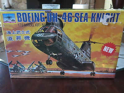 Model Kit Boeing Helicopter Sea Night Sealed 1/72 Scale