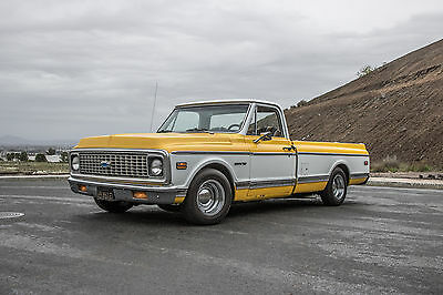 1970 Chevrolet C-10 CST 1970 CST CHEVY LONG BED SOUTHERN CALIFORNIA BIG WINDOW TRUCK c10 chevrolet
