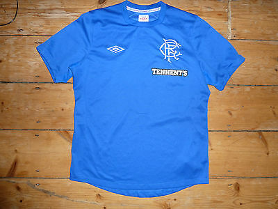 Glasgow Rangers Football Shirt [size-large] Rangers Soccer Jersey Gers 2012 S/S