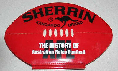 The History Of AFL Australian Rules Football Book