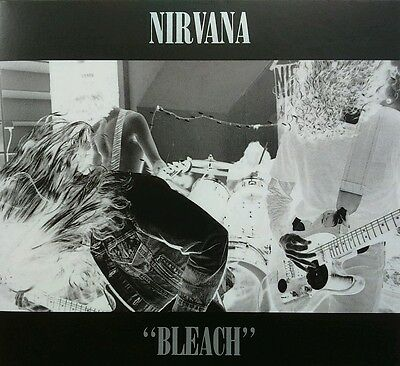 Nirvana Chad Channing Bleach First Band Drums Cd Digipak Hand Signed Autographed