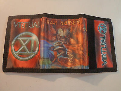 Vintage IRON MAIDEN  1998 Unused WALLET heavy metal motorhead ozzy t shirt patch