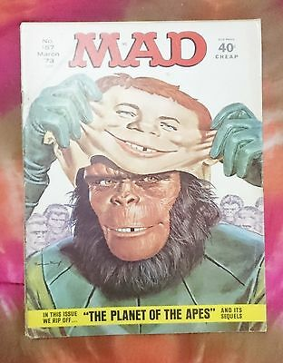 Mad Magazine Issue #157 March 1973 ( Planet Of The Apes Edition)