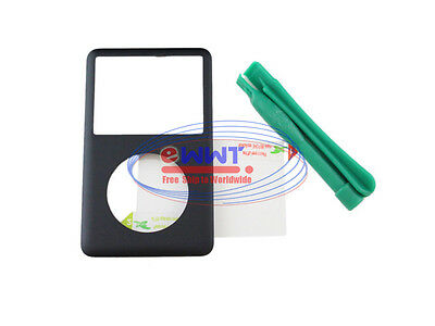 FREE SHIP for iPod Classic 80-160GB Black Front Metal Housing Case +Tool LQHR156