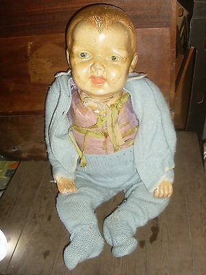 Antique Plaster Life Size Doll