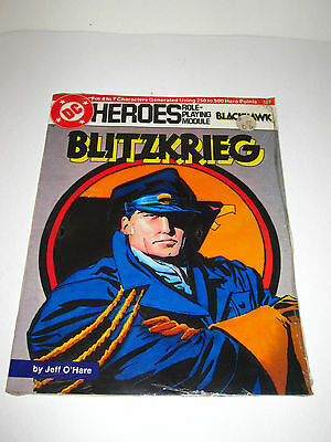 Blitzkrieg  #237 Dc Heroes Roleplaying Game Mayfair 1988 ~ Sealed ~
