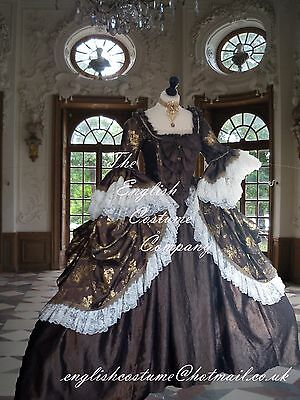 LAST ONE UP TO 51in BUST Versailles Marie Antoinette Venice dressFULLY CORSETED