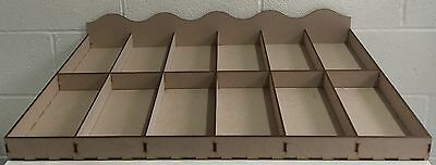 Y83 Market Stall Storage HOLDER Organiser Box Retail Counter Shop DISPLAY Stand