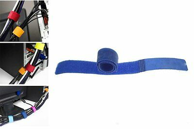 Velcro Cable Wrap - Cable Ties for cables - 18cm x 2cm - Cable Management NEW