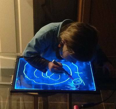 LED children's light up drawing/writing board, special needs, sensory, autism,