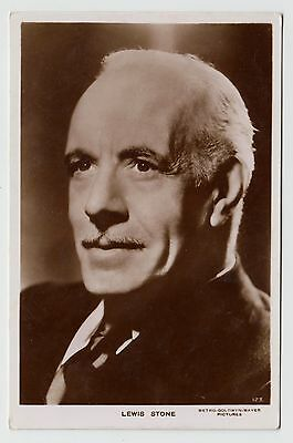 POSTCARD - Lewis Stone, movie star, film cinema actor #123