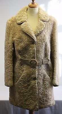 John Paterson of Northampton Vintage Sheepskin Coat women's approx size 14