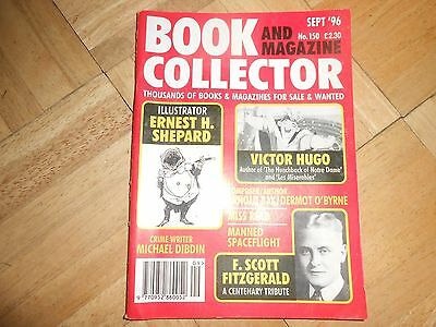 Book and Magazine Collector Sept 1996 #150 Victor Hugo Ernest Shepard Miss Read