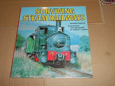 Surviving Steam Railways - Jeoffry Spence Trains Paperback Book