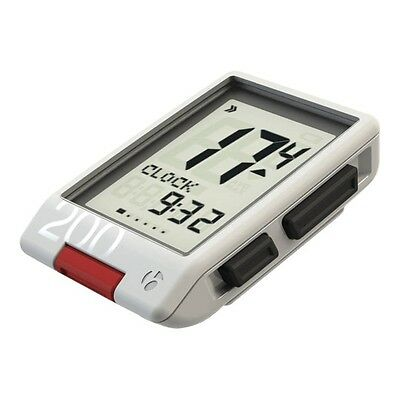 Bontrager Trip 200 Wireless Cycle Computer White Speedometer Odometer Clock